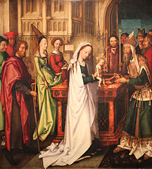 1501 holbein presentation of jesus at the temple