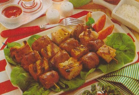 Brochettes toulousaines