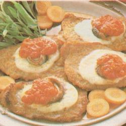 Escalopes fromagères