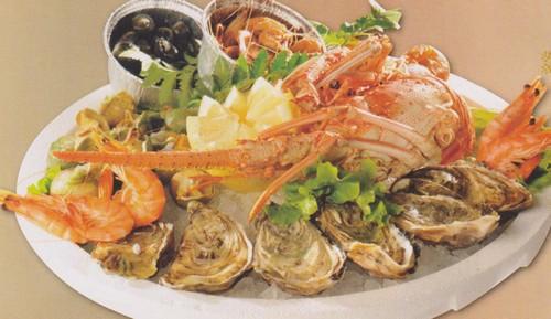 Fruits de mer plateau 1