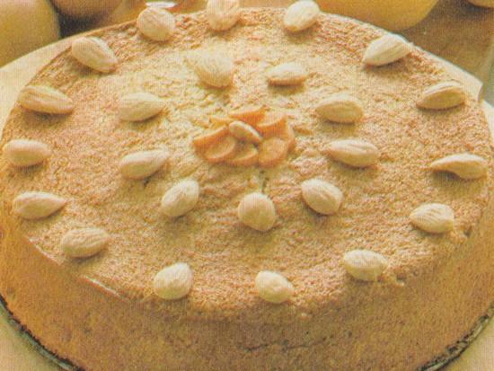 Gâteau Myrette aux carottes et amandes