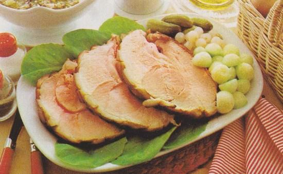 Jambon aux concombres
