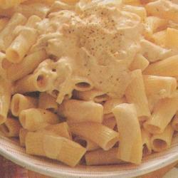Macaronis sauce Mornay