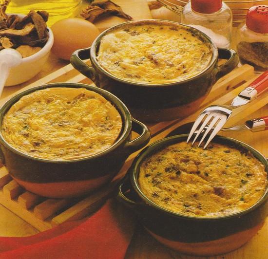 Omelettes en cassolettes