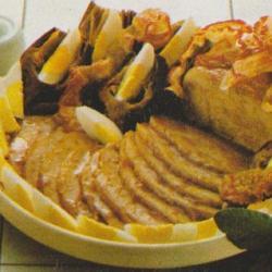 Rôti de porc bouquetière