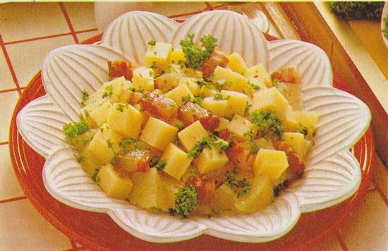 Salade jonquille
