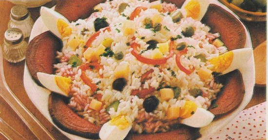 Salade de riz aux câpres