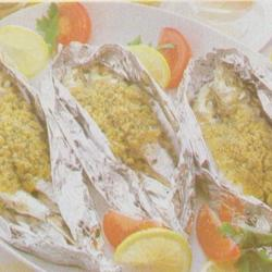 Sardines farcies en papillotes