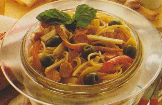 Spaghettis aux saucisses de Francfort