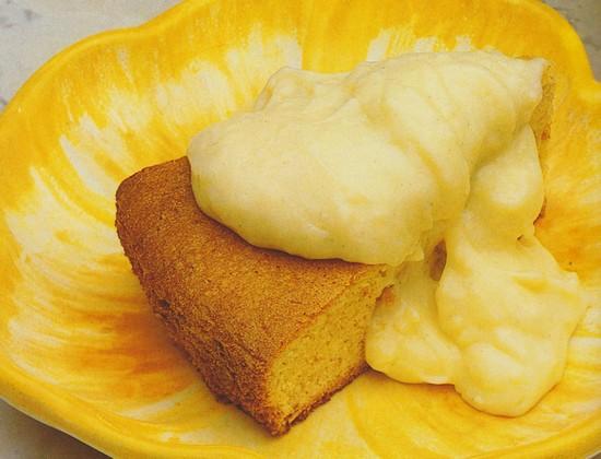 Biscuit aux noix et aux amandes et sa crème