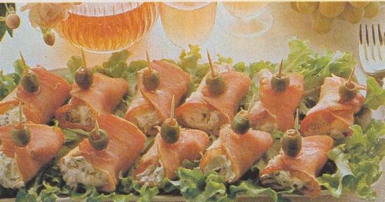 Bouchées au jambon