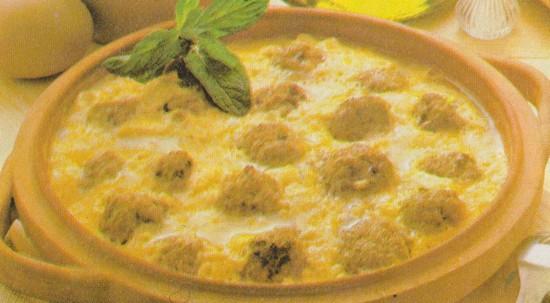 Boulettes aux œufs brouillés