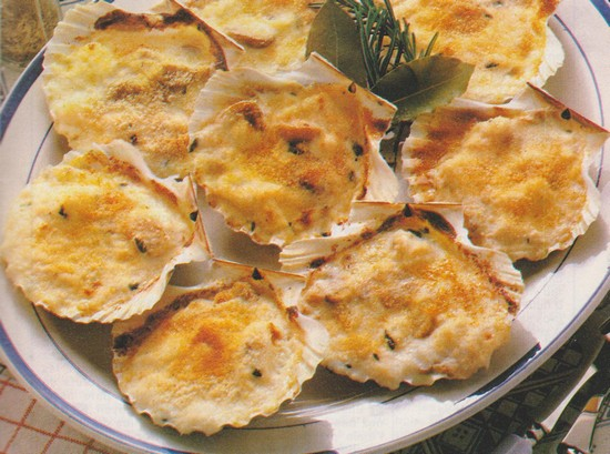 Coquilles normandes (cabillaud)