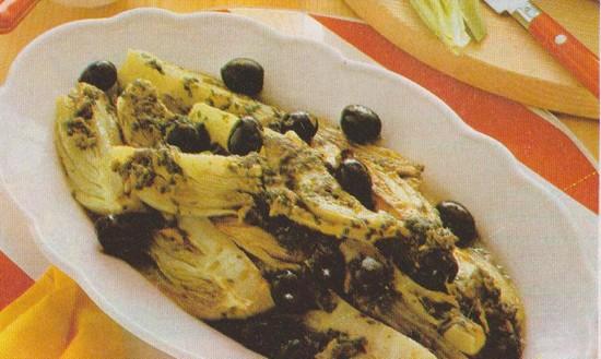 Fenouils au thon et  aux olives