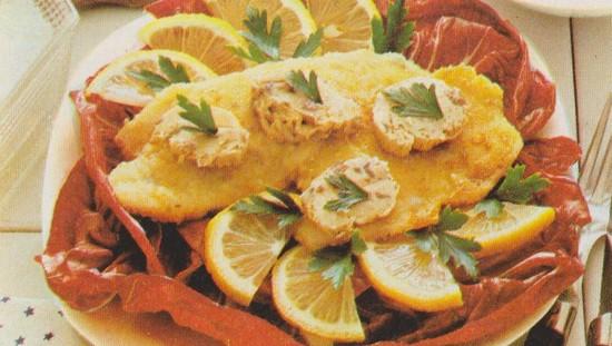 Filets de limande au beurre d'anchois