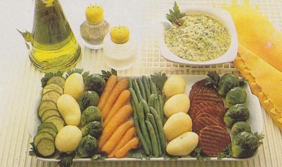 Grillades aux 5 légumes