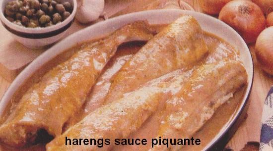 Harengs sauce piquante