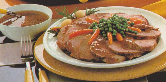 Longe porc brugeoise
