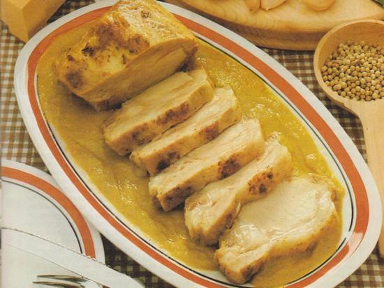 Longe de porc à la cocotte