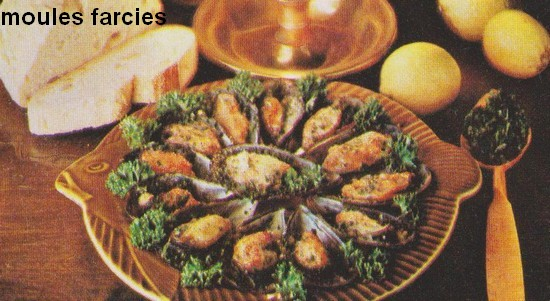 Moules farcies