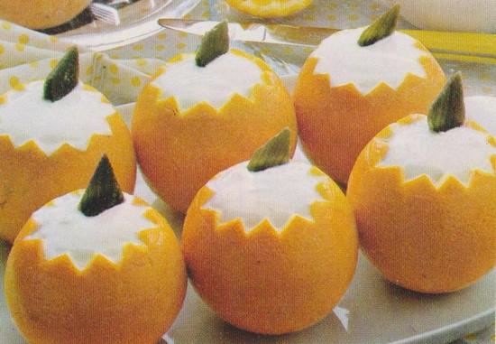 Oranges au yaourt