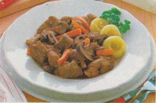 Ris de veau braisés