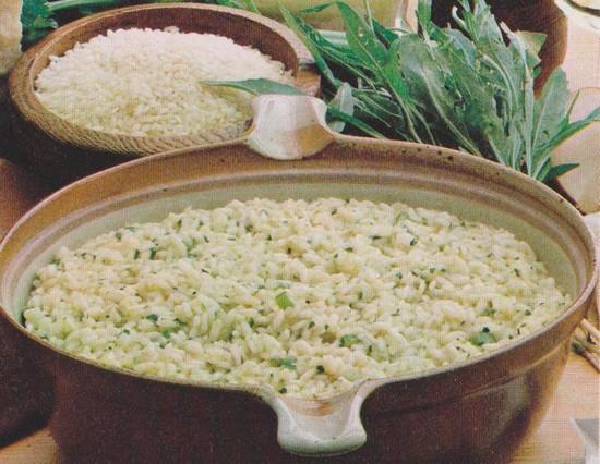 Riz aux herbes