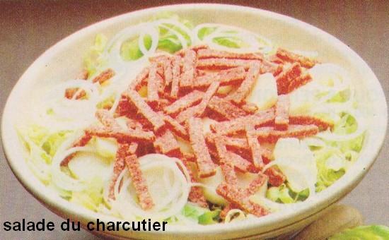 Salade du charcutier