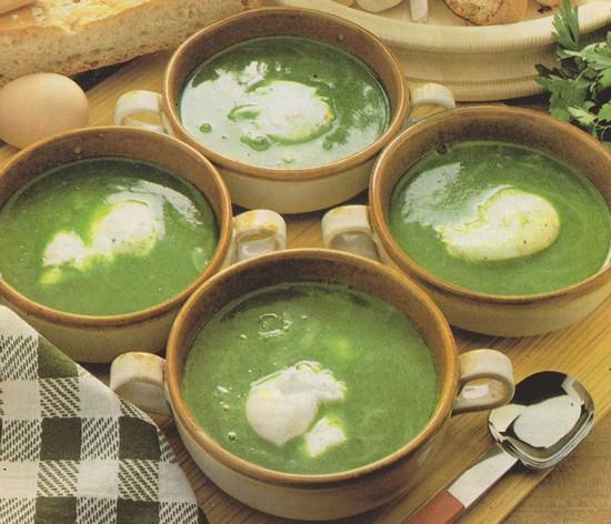 Soupe en cassolettes