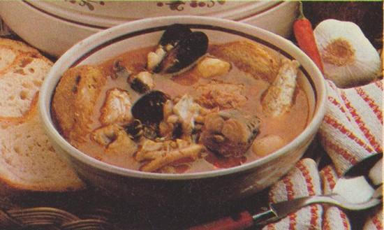 Soupe pescadou