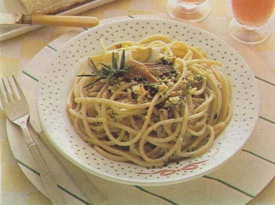 Spaghettis à la Sétoise