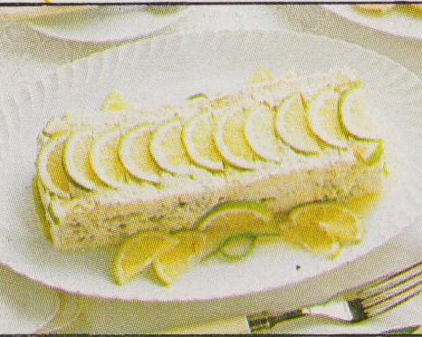 Terrine de poisson au citron vert